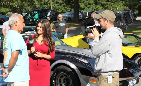 Corbett Public Relations secured News 12 coverage  for Cruizin' for a Cure Volunteer and Prostate Cancer Survivor Vince Bucilli.