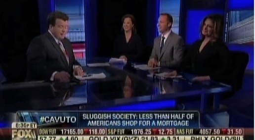 Fox Business News Host Neil Cavuto (l) with Rob Basso (second right).