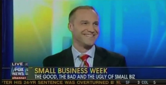 Rob Basso during an appearance on Fox News Channel.