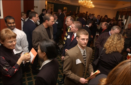 Networking event.