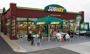 A Subway franchise location.
