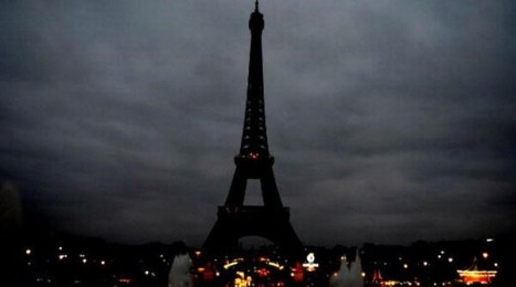 Blacked Out Eiffel Tower